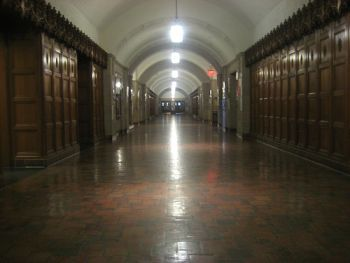 Halls of Yale Law School