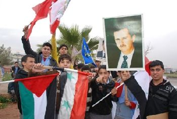Syrian welcome for Gaza Convoy