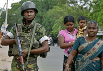 Sri Lankan Army and Tamil Women
