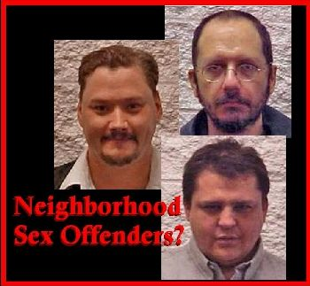 Registered Oregon sex offenders: Matthew John Shipley, Jerry Allan Farstad, and Harold Austin Aven