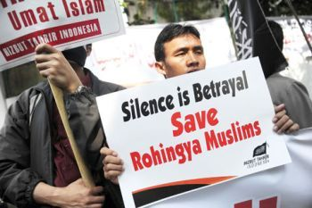 Pro Rohingya demonstration