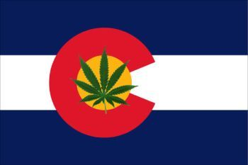 Colorado stoner flag