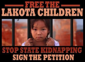 Free Lakota children