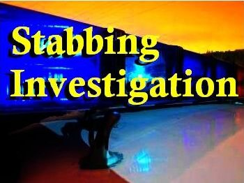 Stabbing investigation art