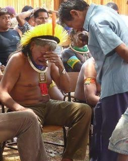 chief of the Kayapo