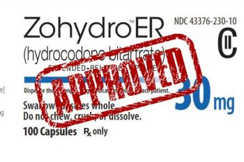 FDA approves Zohydro ER