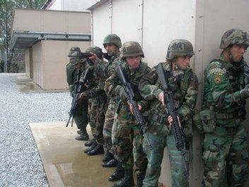 US Mexican joint military task force