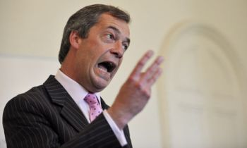 Nigel Farage - leader of UKIP.