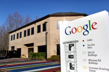 TCE contamination was found in this Google building, located at 379 North Whisman Road.