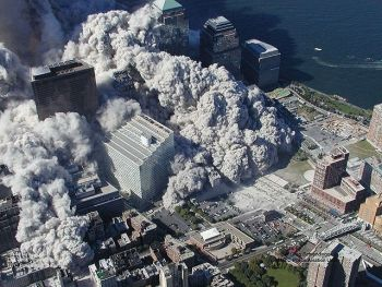 Newly released photos of New York on September 11, 2001 by the NY Police Association