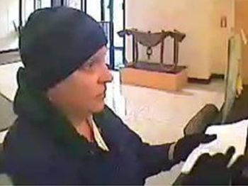 Photos of the bank robbery suspect