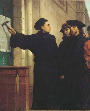 Luther Wittenberg 1517