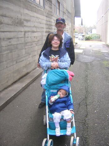 Oregon homeless family by: Tim King