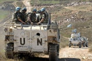UNIFIL on patrol in southern Lebanon