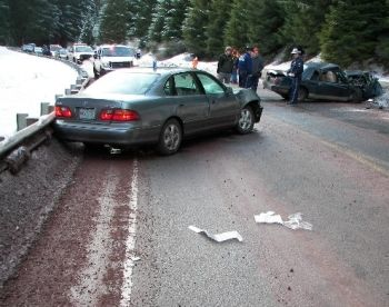 Fatal crash on Oregon Highway 22e, 1-16-08