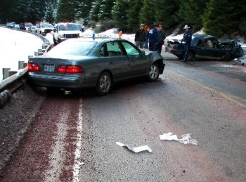 Fatal crash near Detroit in Oregon, 1-15-08
