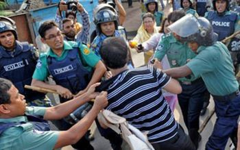 Chattro League Police Beating Chief Whip Zainul Abdin Farroque