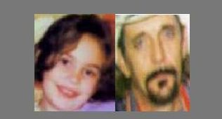 8-year old Aja Jotson and abductor 47-year old Lester Hobbs