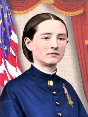Doctor Mary Walker, in the Civil War