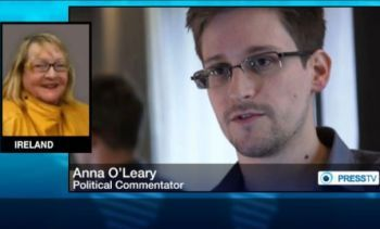 Anna O'Leary believes that Edward Snowden, the National Security Agency's whistleblower, will reveal more confidential information if he is put on trial.