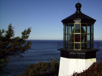 The Cape Meares Lighthouse