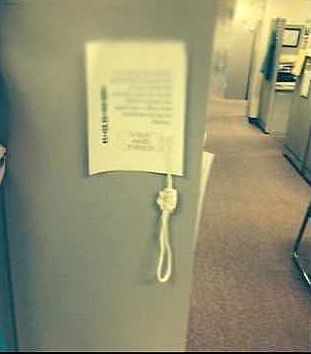 Noose left in African-American woman's cubicle