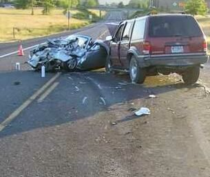 Fatal crash in Oregon,  4 July 2006