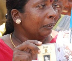Sri Lanka family missing