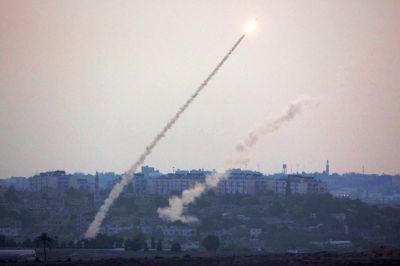 Gaza Rocket Launch