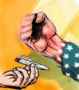 U.S. government persecution of marijuana