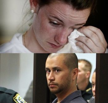 Marte Deborah Dalelv and George Zimmerman