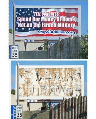Anti-apartheid billboards