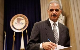 Eric Holder, current Attorney General under President Obama