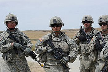 Oregon Army soldiers