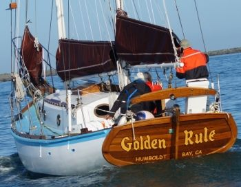 the Golden Rule sailboat