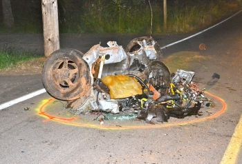 Fatal hill-hopping crash in Jefferson, Oregon