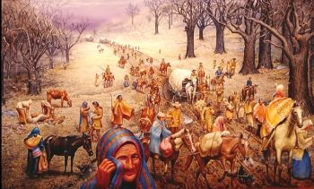 R. Michelson Galleries 'The Trail of Tears' Max B  Standley