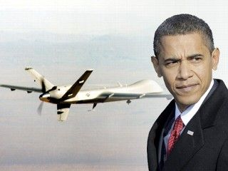 Obama and military drones