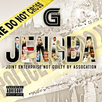 CD cover of Rapper 'Goddaz'