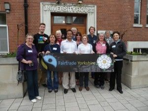 Salem-News.com Human Rights Ambassador William Nicholas Gomes with other Campaigners at the 2013 Fairtrade Yorkshire Conference