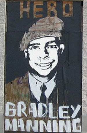 Bradley Manning's courage is not missed.