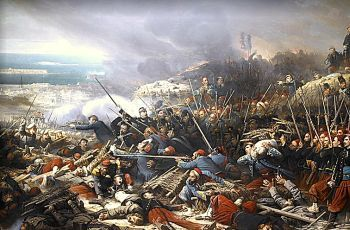The Siege of Sevastopol 1855