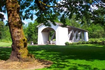 Pioneer Park, in Stayton, Oregon