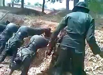 Tamil girls forced to serve in genocidal Sri Lankan army terrorized