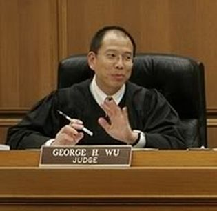 Federal District Judge George H. Wu