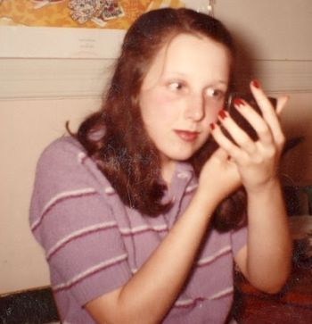 Theresa Griffin, aged 15-years-old, circa, 1981, photo by Dorsey Griffin.