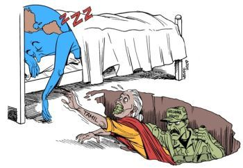 Tamil Genocide in Sri Lanka by Latuff