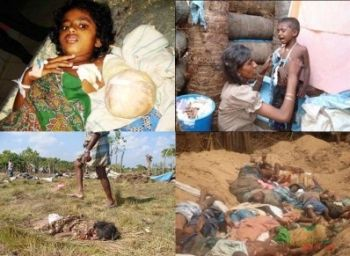 Images of the Sri Lanka Tamil genocide from 2009