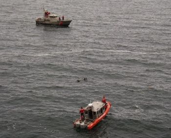 Area where the body was found near Depoe Bay, Oregon 5-31-08: