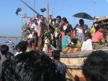 Rohingya boat people